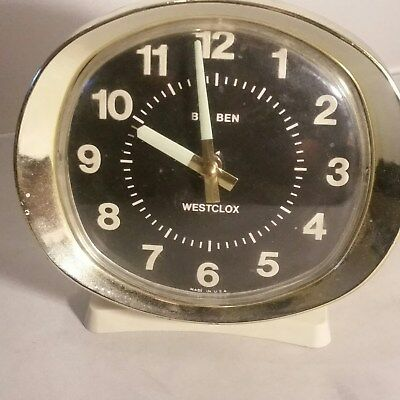 vintage big ben alarm westclox untested windup with alarm feature
