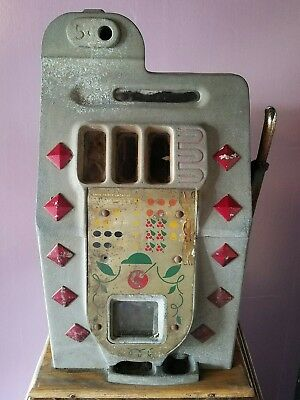 Mills Slot Machine Diamond Front Case No Mechanism Barn Find