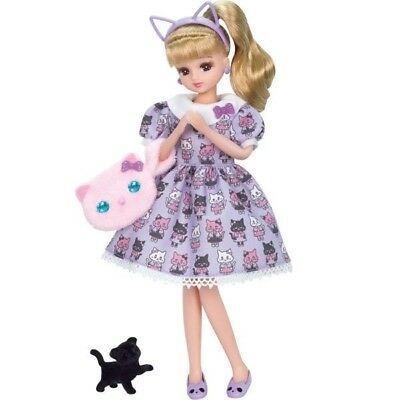 """Takara Licca 9"""" Doll Blythe LD-09 Cat Coordinate Body w/ Outfit (without Box)"""