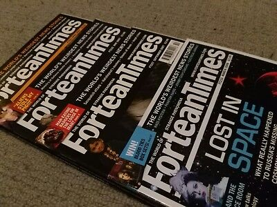 Fortean Times Magazines Issues 221, 222, 227 And 233