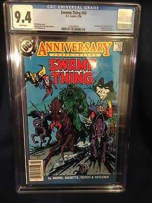 Swamp Thing #50 CGC 9.4 1st Appearance of Justice League Dark