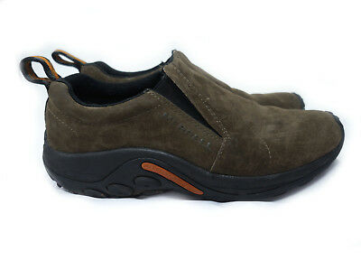 Merrell Gunsmoke Slip-on Loafers Hiking Shoes Men 9 Taupe Suede