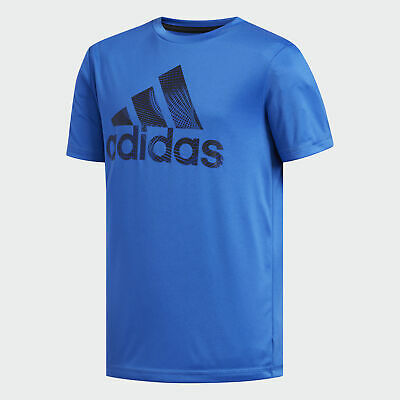 adidas Pattern Fill Logo Tee Kids'