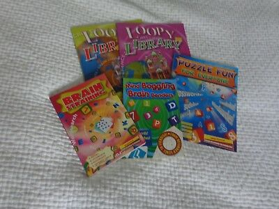 bnwot  5 different puzzle books