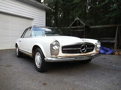 1965 Mercedes-Benz SL-Class  1965 Mercedes 230SL Southern Car All Original In Dry Storage For 40 Years