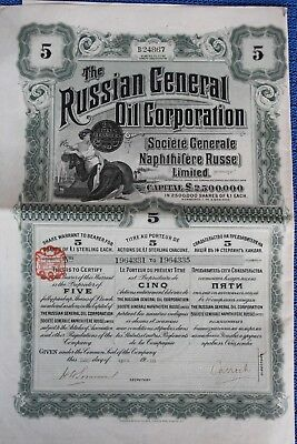 Russian General Oil Corp., 1918
