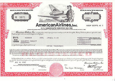 American Airlines, Inc., 1980