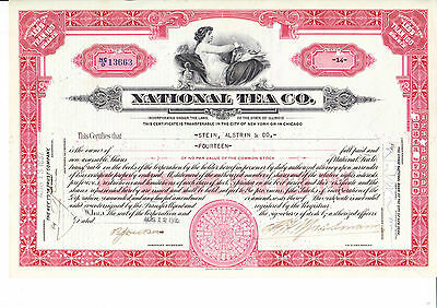 National Tea Co., 1933