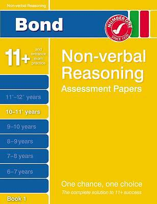Bond Non-Verbal Reasoning Assessment Papers Electronic version