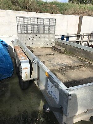 Ifor Williams GP106 Plant Trailer 3500kgs