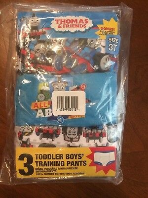 Toddler Boy Training Pants- Set Of 3-Thomas & Friends