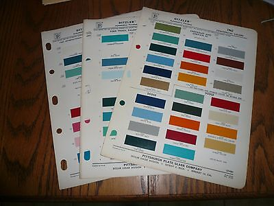 1962 Chevy GMC Dodge Ford Studebaker Willys Commercial Ditzler PPG Paint Chips