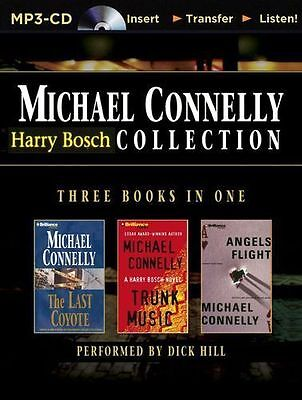 Michael CONNELLY / HARRY BOSCH Collection Vol II - 3 books in 1   [ Audiobook ]