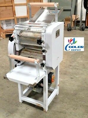 NEW Electric Pizza Dough Roller Sheeter Noodle Pasta Cutter Machine Model NO60