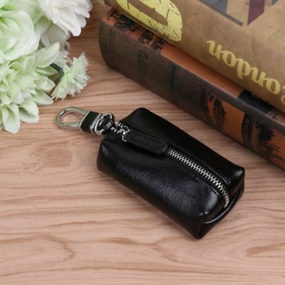 Leather Cover Keychain Multi-Function Coin Bag Key Case Wallets Pouch Purse