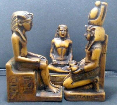 Ancient Egyptian Statue the writer & Egypt Kings Figurine Decor Sculpture