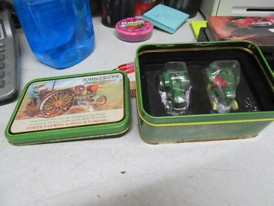 2 Collector John Deere Toy Tractors