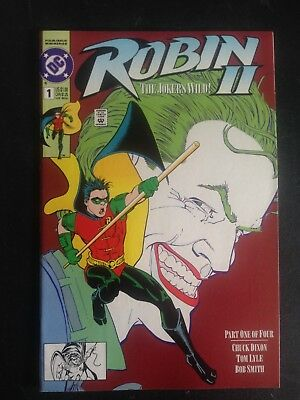 Robin II #1 (1991) VF+ new-stand edition