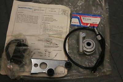 NOS Honda ATC 200E speedometer drive and mount kit Hondaline Big red NEW Bin A