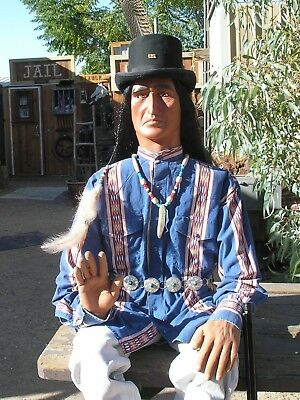 Cowboy Mannequin, Life Size Poseable Old West Scout  Mannequin