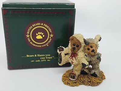 Boyds Bears Nativity Winkie & Dink as the Lambs Style #2409 Christmas