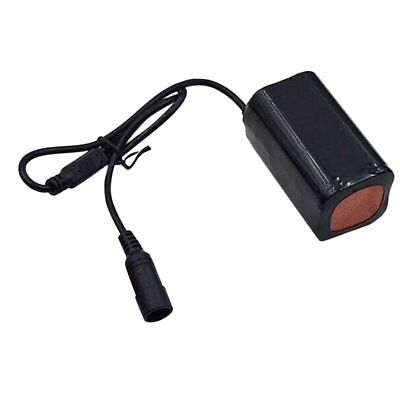 8.4V USB Rechargeable 4x18650 Battery Pack For Bicycle Light Bike Torch M62Z