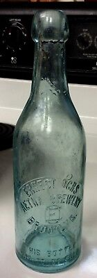 Ernest Ochs  Aetna Brewery Eo Brooklyn. This Bottle Not To Be Sold