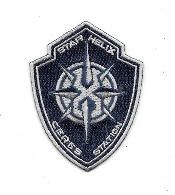 """The Expanse TV Series Star Helix Ceres Station Logo 3.5"""" Embroidered Patch"""