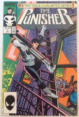 The Punisher #1 Nm- 9.2 1St Issue In Unlimited Marvel Comics 1987