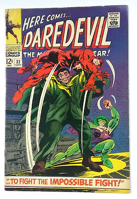 Daredevil 32 (1967)  7.5 Vf-