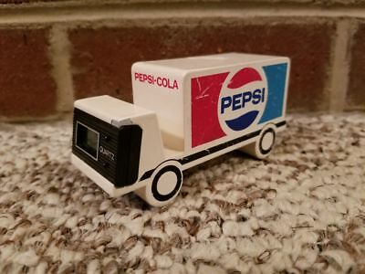 VTG 1980's Pepsi Choice Of A New Generation Truck Paperweight Clock