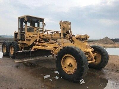 1950 Caterpillar 112 Motor Grader - Working condition Ready to work. No Reserve!