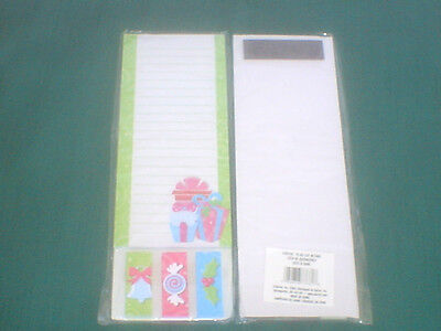 HOLIDAY TO DO LIST Magnetic Note Pad with Sticky Tabs 2483-65 Darice