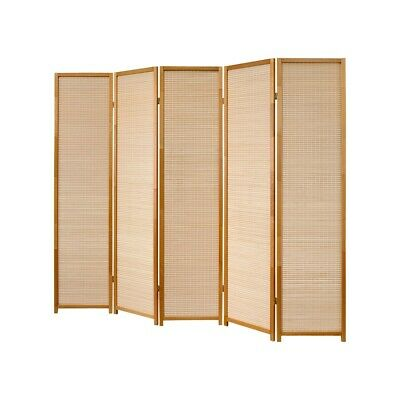 Biombo Natural Madera 5 Pared Divisoria, Paravents By Cilios