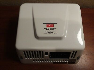 Dayton Warm Air Hand Dryer 3BU95B