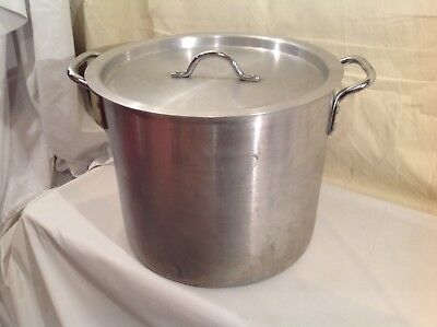 Polar Ware 24Qt Aluminum Stock Pot with Lid #2224 Commercial Grade