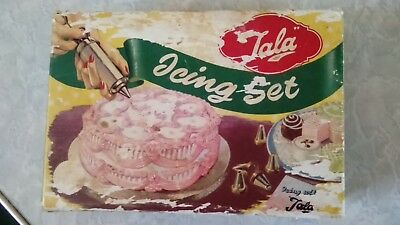 Tala Icing Set No. 1705 - VINTAGE - Syringe and Tube, Cake Icing Set