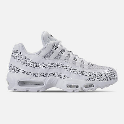 air max 95 just do it blanche