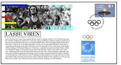 Olympic Games Legends Cover, Lasse Viren Athletics