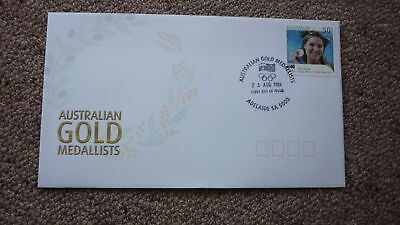 2004 Australian Athens Olympic Gold Medal Fdc, Adelaide, Anna Meares Cycling