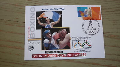 2000 Olympic Games Gold Medal Win Cover, France Boxing Event Gold, Flyweight