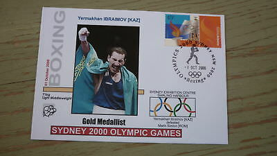 2000 Olympic Games Gold Medal Win Cover, Khazakstan Boxing Event Gold