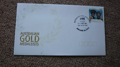 2004 Australian Athens Olympic Gold Medal Fdc, Adelaide, Mens Rowing Team