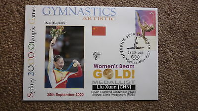 Liu Xuan China Gymnastics 2000 Olympic Games Gold Medal Win Cover