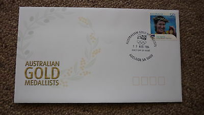 2004 Australian Athens Olympic Gold Medal Fdc, Adelaide, Sara Carrigan Cycling