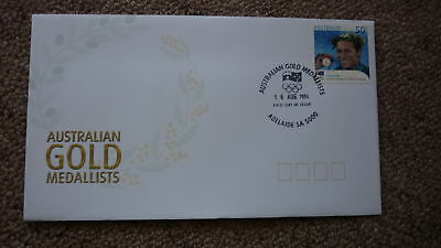 2004 Australian Athens Olympic Gold Medal Fdc, Adelaide, Ian Thorpe Swimming 2