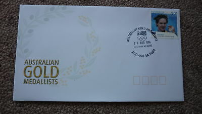 2004 Australian Athens Olympic Gold Medal Fdc, Adelaide, Ryan Bayley Cycling 2