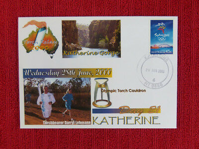 Souvenir Sydney Olympics Torch Relay Cover - Day 21, Katherine
