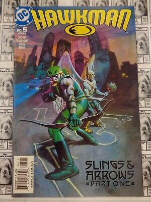 Hawkman (2002) DC - #5, Slings and Arrows Part 1, Hawkgirl, Johns/Morales, VF