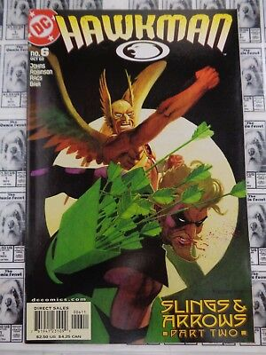 Hawkman (2002) DC - #6, Slings and Arrows Part 2, Hawkgirl, Johns/Morales, VF